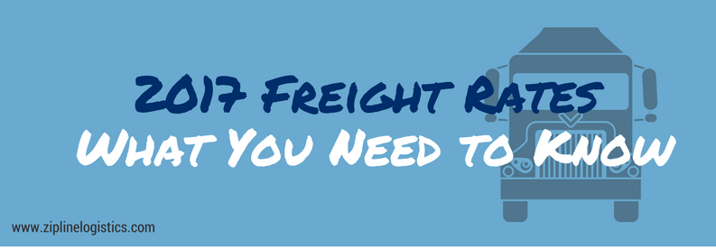 Freight Rates 2017
