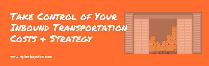 Control of Your Inbound Transportation Charges