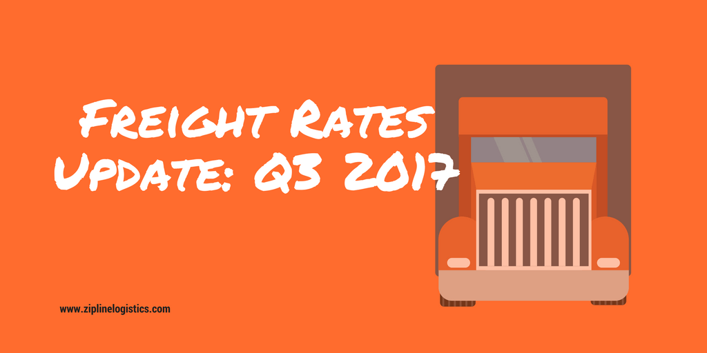Freight Rates Update: 2017 Q3
