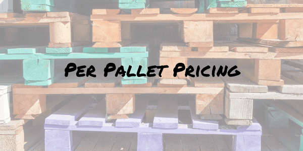 pallet price pallet shipping ship a pallet