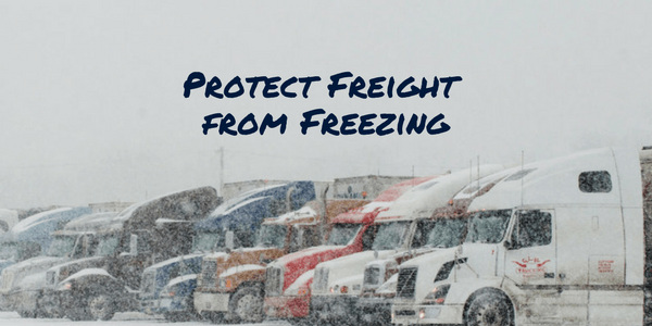 Protect Freight from Freezing