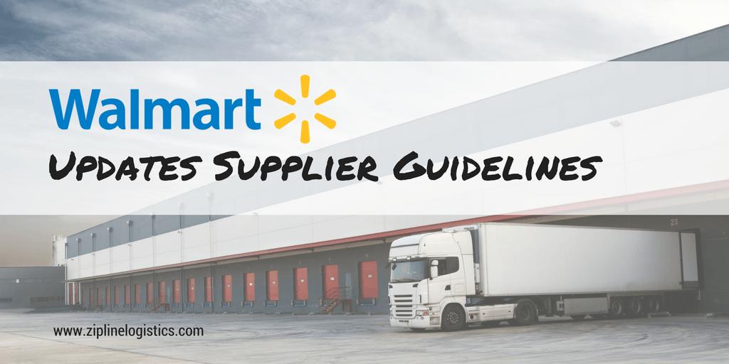 Walmart Updates Supplier Guidelines, Again