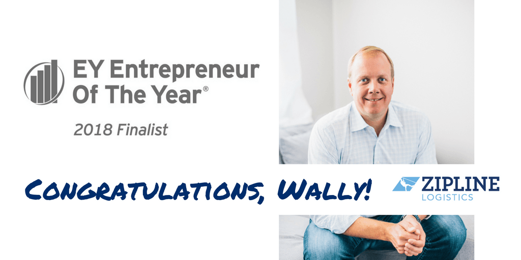 EY Announces Walter Lynch of Zipline Logistics as Entrepreneur Of The Year® 2018 Award Finalist in the East Central Program