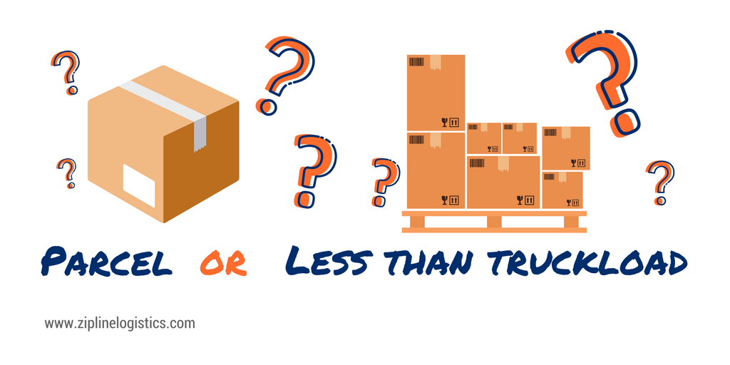 Comparing Parcel and LTL Shipping: When Do I Choose What to Save the Most Money?
