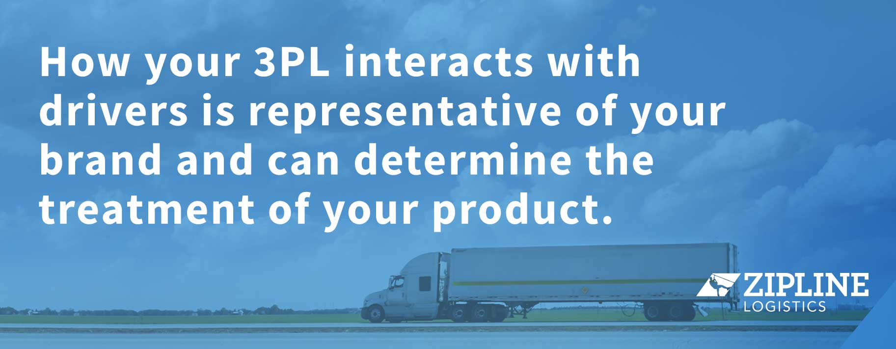 To Be a Shipper of Choice, Work with a 3PL of Choice