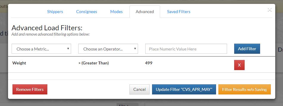 order minimum example