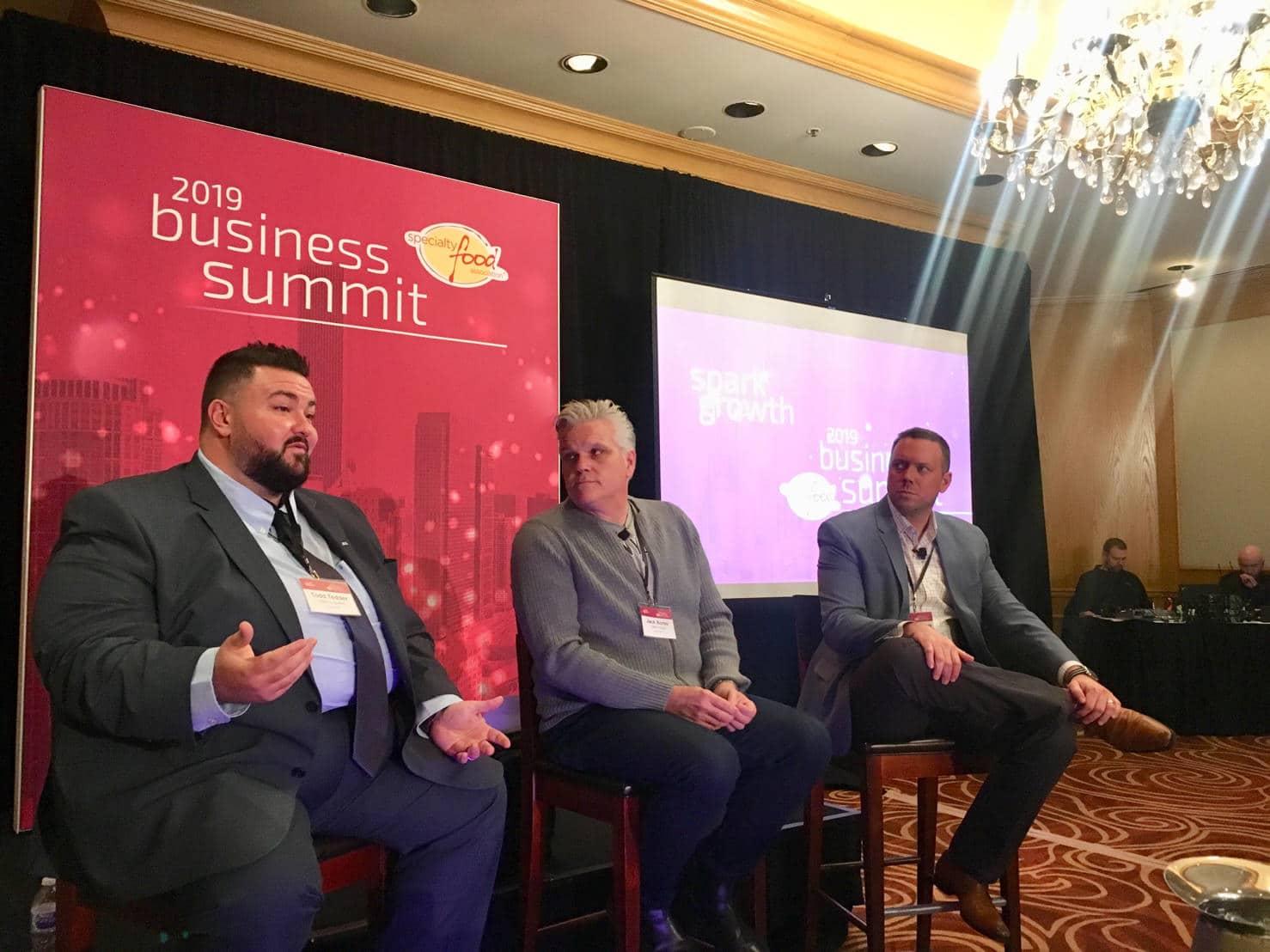 specialty food assoc biz summit 2019 logistics panel