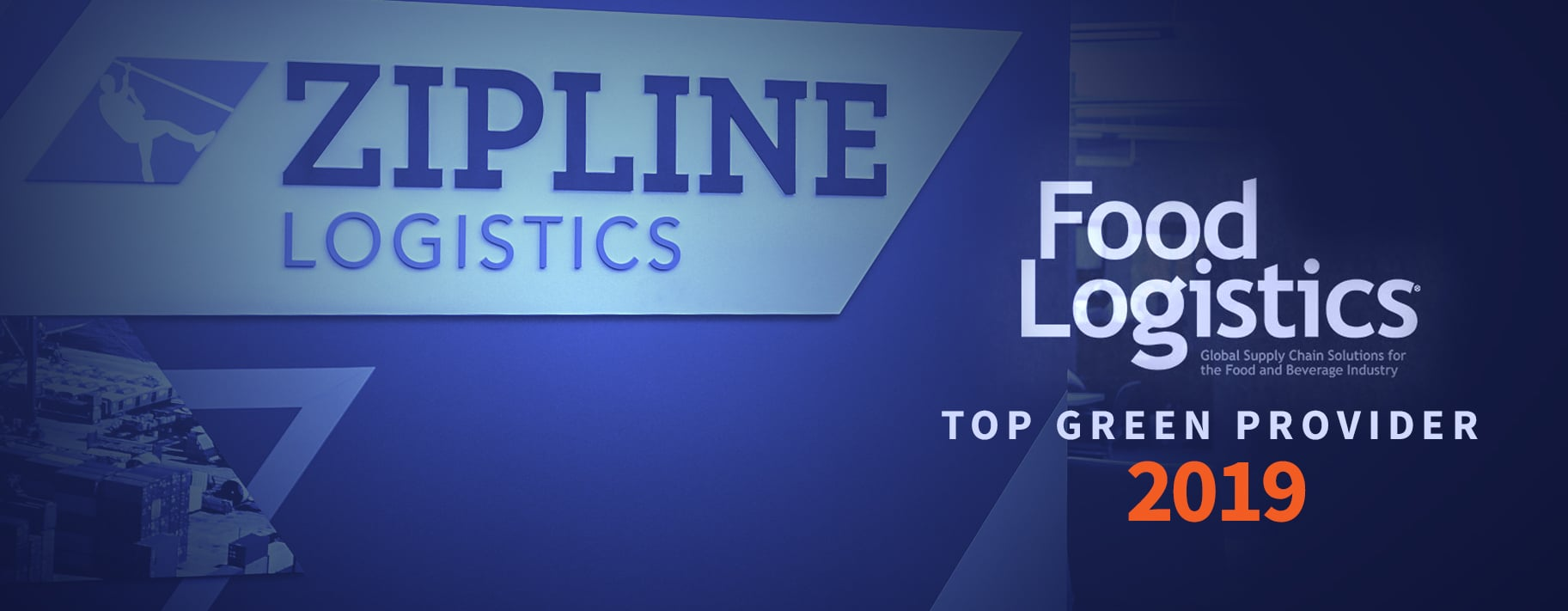 Zipline Logistics Awarded as 2019 Top Green Provider